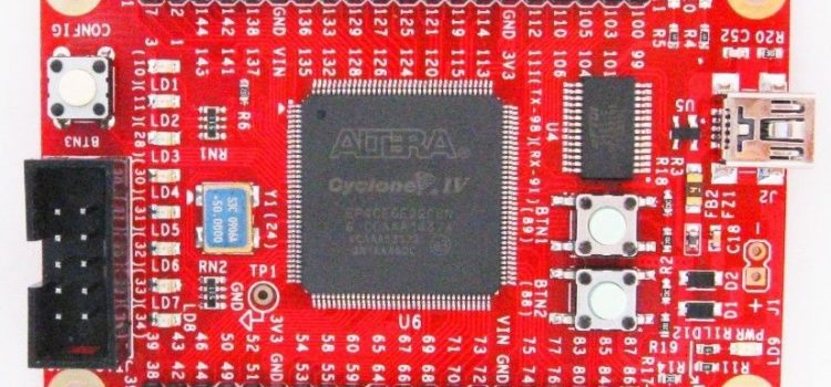 Ahmes – Implementation on an Altera Cyclone IV FPGA