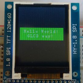 Using a color ST7735-based SPI LCD with the STM32L432 microcontroller