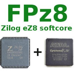 FPz8 – An Open Source Microcontroller in VHDL