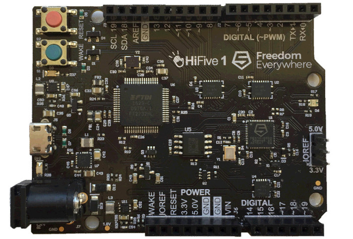 FE310G: an open source RISC-V microcontroller – IDE